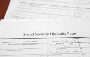 social security disability insurance form
